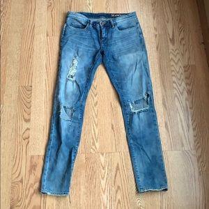 BlankNYC Distressed Denim, Size 27 TTS